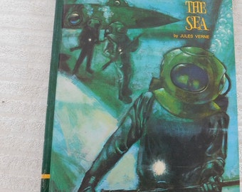 Vintage 20,000 Leagues Under The Sea by Jules Verne