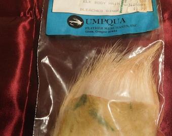 Umpqua Elk Body Hair Bleached Ginger