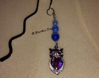 Purple Owl Bookmark