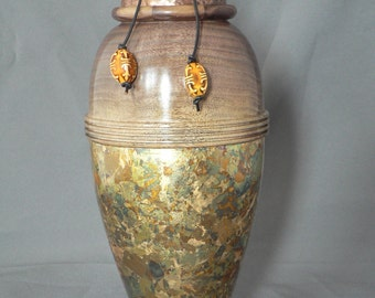 Vase,woodturning,handmade,art,home decor,unique