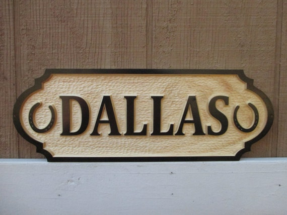Horse Name Plate Stall Door Sign 3D Unique Equine Barn Door
