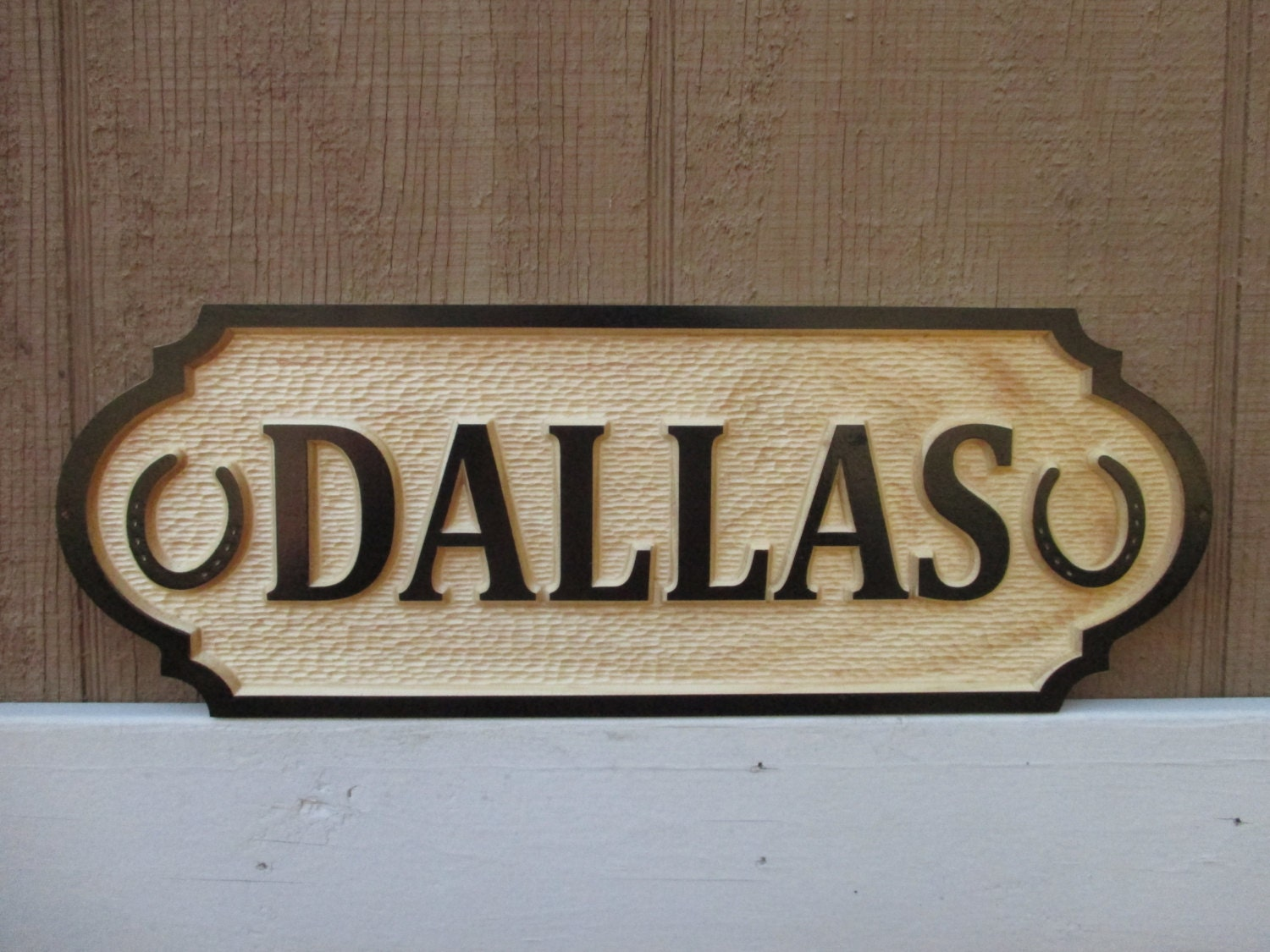 Name Plate: Horse Name Plate Stall Door Sign 3D Unique Equine Barn Door