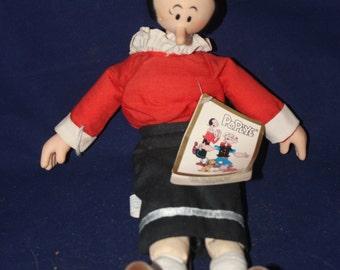 Vintage Olive Oil Doll 50's