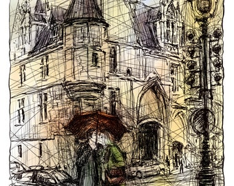 The lovers of Paris