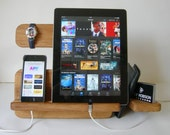Watch and Eye Dock - Desk organizer, iPhone Docking, iPhone 6 Dock, ipad stand, docking station, Mens Gift, Birthday Gifts