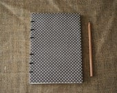 Polka dot journal (A5) *SALE*