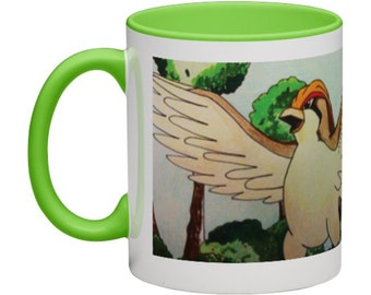 Pidgey, Pidgeot & Pidgeotto Wrap around Mug