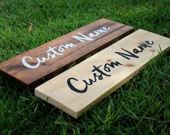 Custom Name Sign, Pallet Name Wood Sign, Rustic Name Sign, Distressed Personalized Name Sign, Personalized Gift   40cm x 14cm