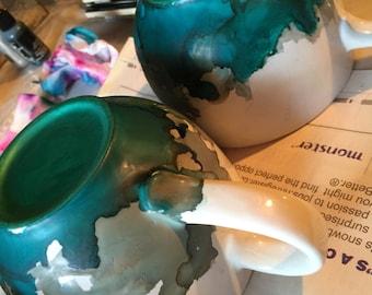 Handcrafted Custom Mugs