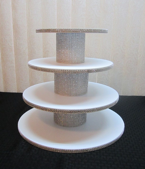 How To Make A Wedding Cake Stand Rhinestone
