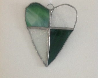 Stained glass heart - ideal valentines anniversary gift