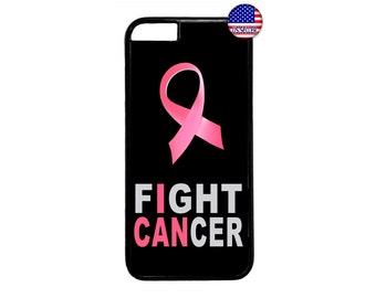 Breast Cancer Pink Ribbon Motivation Support Quote Case Cover for iPhone 4 4s 5 5s  5C 6 6s 6 Plus 7 7 Plus iPod Touch 4 5 6 case Cover