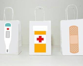 Doctor Goody Bags, Doctor's Kit Goody Bags, Nurse Goody Bags, Doctor's Party Favor Bags