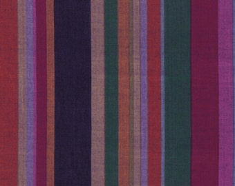 ROMAN STRIPE Woven  SHADOW  wromanx.shadow by Kaffe Fassett fabric sold in 1/2 yard increments