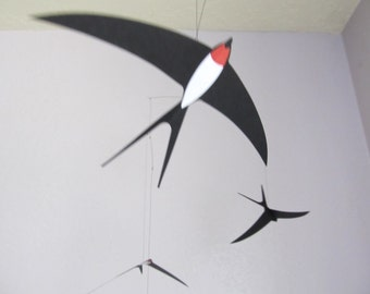 Flensted Five Swallows Flying Mobile