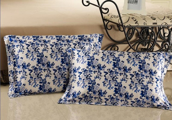 1pc 100 Mulberry Silk Printed Pillowcase Pillow Case