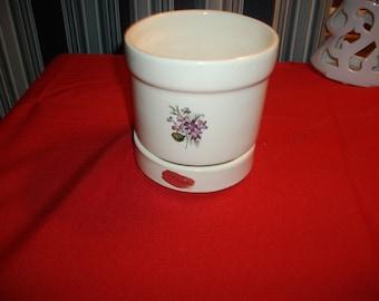 Vintage Haeger Violet Planter
