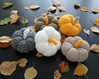 Handmade crochet pumpkin,home decorations