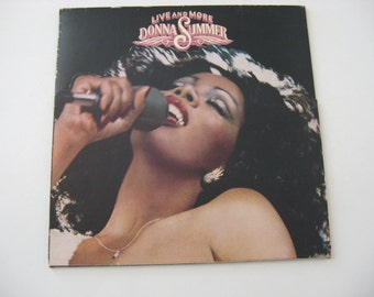 Donna Summer - Live And More - Double Album Set! -  Circa 1978