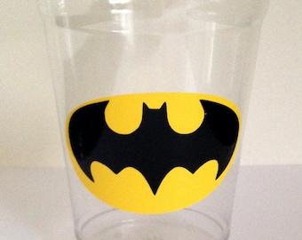 24 Batman Party Cups, Batman Birthday, Batman Party, Superhero Party Cups
