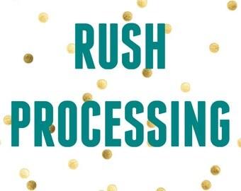 add on rush processing READ ENTIRE DESCRIPTION