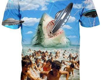 Jaws UFO T shirt