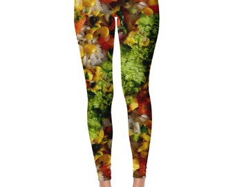 Burrito Bowl Leggings