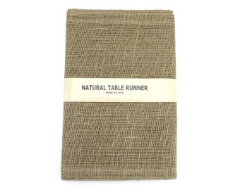 "Burlap Table Runner 14"" x 72"" finished edges Good for rustic country weddings, catering, home decor. Other Colors Available! (BH-Rxx)"