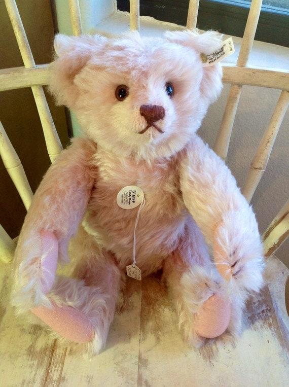 Pink Steiff Bear