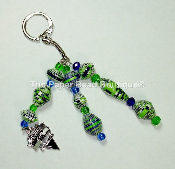 handmade jewelry seattle key chain car jewelry paper by thepaperbeadboutique 7154