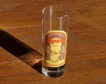 Kahlua Licor Delicoso Liqueur Shot Glass