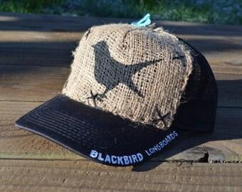 Blackbird Longboards Hand Painted Hat