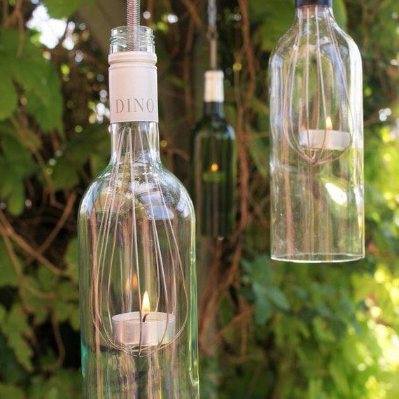 Hanging Glass Tea Light Holder By Suzievalentineallan On Etsy