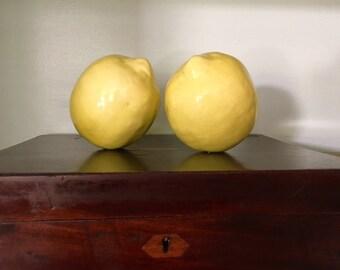 Vintage Ceramic Lemons