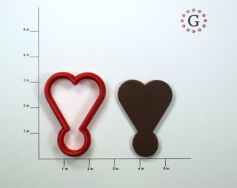 Heart Exclamation Mark Cookie Cutter