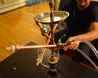 Custom Made Copper Hookah