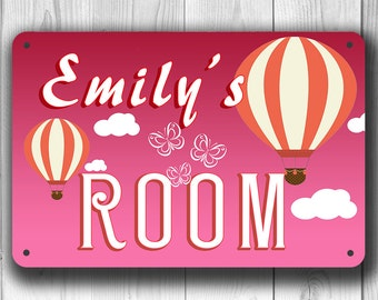 CUSTOM GIRLS ROOM sign, Personalized Girls Room Sign, Customizable Sign, Girls Room Decor, Pink Sign, Girls Name Sign, Girls Room Door Signs