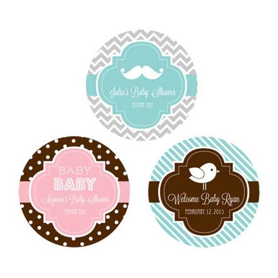 labels for baby shower 24ct favor labels baby shower stickers baby