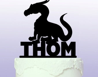 Personalised 'How to Train Your Dragon' Cake Topper