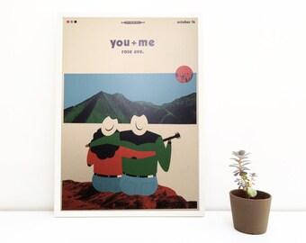 You + Me   digital print   50 x 70