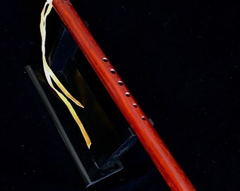 Native American Flute, key of F, Made of Paduk