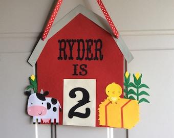 Farm themed party door sign, Farm theme birthday, Farm theme baby shower, Farm theme party decorations, Farm themed party, Barnyard theme