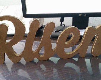 Wooden words - custom words available