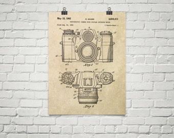 KillerBeeMoto: Duplicate of Original U.S. Patent Drawing For Vintage 35 MM Camera