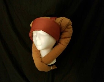 Star Wars costume cosplay Twi'lek Hat! Lekku tentacles