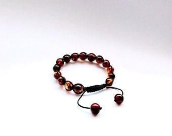 Amber Bracelet/ Baltic Amber/ Mans Amber Bracelet/ Amber Beaded Bracelet/ Mans Bracelet/ Amber Jewelry/ Beaded Bracelet/ Handmade Bracelet
