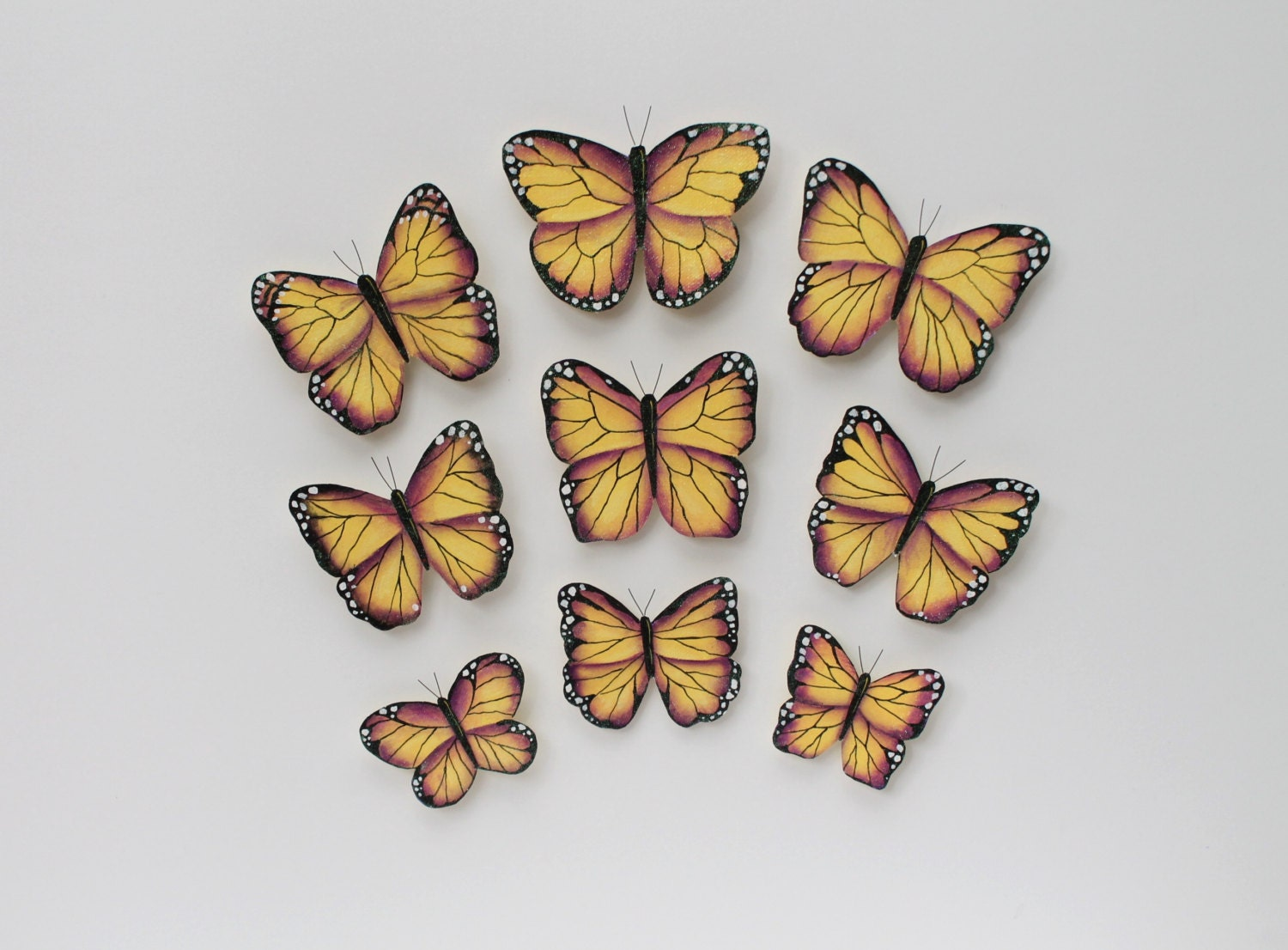 Butterfly wall decor butterfly wall decoration 3d butterfly for 3d butterfly decoration