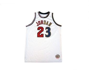 Michael Jordan X Mitchell & Ness Jordan Hardwood Classics NBA Basketball Jersey