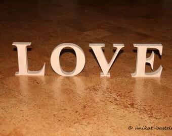 Letter HOME / LOVE