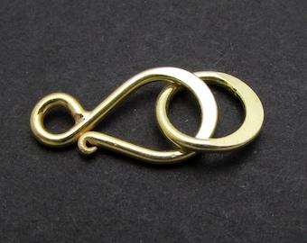 4 Sets, 24k Gold Vermeil Clasp